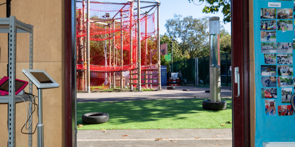 Three Corners climbing frame