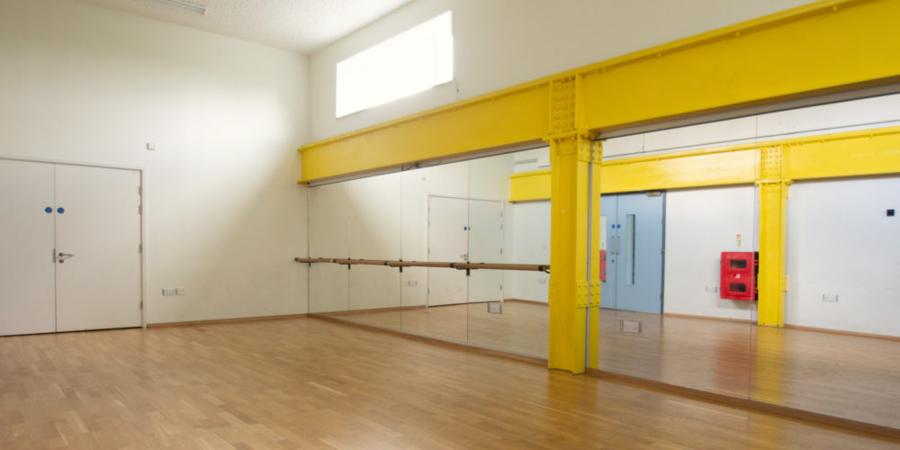 Dance studio at Cape
