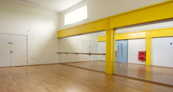 Dance studio at Cape