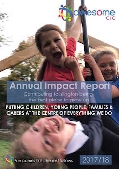 Annual report 2017/18 cover